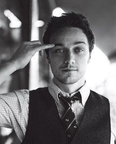 James McAvoy. He's not really my type but there is something SEXY about him