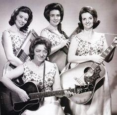 Mother Maybelle, June Carter Cash, Helen and Anita Carter.