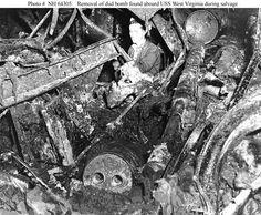 Salvage on the USS West Virginia