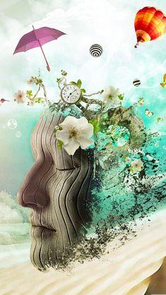 Meditation iPhone wallpaper