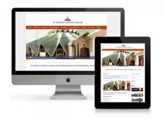 Website: St Charles Parish, Victory Park Designed by: Sheree Conway