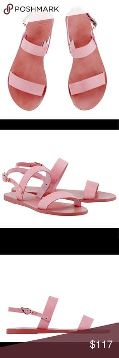 Ancient Greek Sandals pale pink Ancient Greek Sandals **check out my Instagram @brieharding to see my closet in motion. Everything in my closet has been curated with love and I rock it myself! ancient greek sandals Shoes Sandals