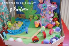 Bajkowa przestrzeń do zabawy z opakowania po pizzy DIY. Recykling. Diy Projects To Try, Toy Chest, Storage, Toys, Home Decor, Purse Storage, Activity Toys, Store, Interior Design