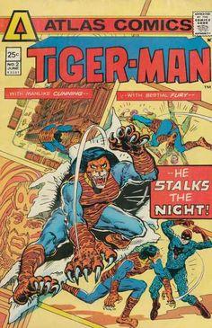 Atlas Comics - Cunning Tiger - Bestial Fury - Stalks The Night - June