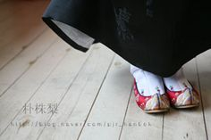 꽃신-Traditional Korean shoes 'flower shoes'
