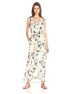 Lucky Brand Womens Floral Spritz Dress