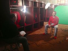 Double D sits down for interview  this morning 2-18-13
