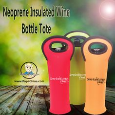 The Neoprene Insulated Wine Bottle Tote is a much diversified product to use by your customers which easily fits in their hands as Large Size and can be dynamically used for cooling wine providing vast image and great reputation to your company name in the market.