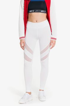 Shop new arrivals at Ardene for a variety of tops, bottoms, dresses, lingerie, shoes and accessories. New styles drop daily for constant new trends to love. Sports Leggings, Athleisure, White Jeans, Active Wear, Cute Outfits, Fashion Outfits, Clothes For Women, Tees, My Style