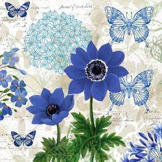 Flowers - Blue 2 - Elena Vladykina