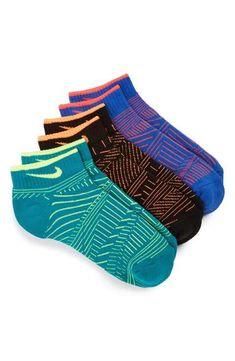 Nike Low Cut Socks (3-Pack) (Kids)