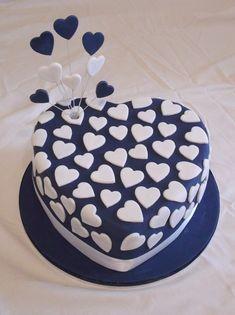 bolo noivado decorado
