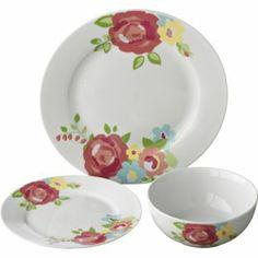 Buy Living Pastel Rose 12 Piece Dinner Set at Argos.co.uk - Your Online Shop for Crockery. £20
