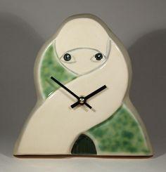 Art Deco Clock Vintage Clocks, Art Deco Period, Art Deco Design, Eccentric, Art Nouveau, Objects, Arts And Crafts, Ceramics, Watches