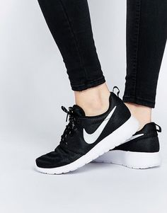 reputable site 84a58 224e8 ℓσνєѕ ღ ✓  Nike Roshe Run Black Sneakers