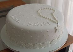 bolo personalizado de batismo