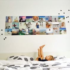 Create your own collage posters with IXXI. Upload your own photos and easily customize templates to create a unique piece of wall art. Make A Photo Collage, Wall Collage, Instagram Wall, Mirror Wall Art, Collage Maker, Modern Wall Decor, Aesthetic Bedroom, Modern Family, The Dreamers