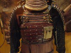 Samurai Warrior's Armor Plating by JeffreyWiden, via Flickr