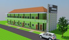Contoh Konsep Desain Sekolah Minimalis 2 Lantai