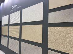 New ceramic tile novelties >> Orion collection.