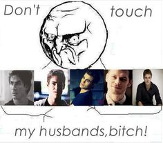 Hahaha I'll just take Damon thanks ;)