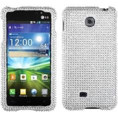 Insten Diamante 2.0 Phone Case Cover for LG P870 Escape #1108644
