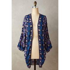 Tolani Kawachi Gardens Kimono ($128) ❤ liked on Polyvore