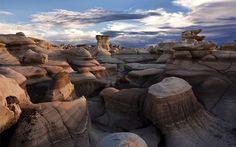 The Bisti Badlands, NM