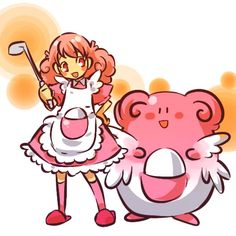 Another Chansey costume idea.