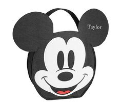Disney Mickey Mouse Treat Bag | Pottery Barn Kids Mickey Mouse Treats, Mickey Mouse Costume, Disney Mickey Mouse, Disney With A Toddler, Baby Disney, Chic Diaper Bag, Bugaboo, Pottery Barn Kids, Treat Bags