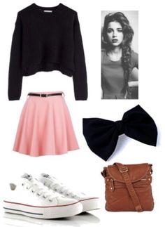 c90e3a7ec652 cute outfits with balck converse - Yahoo Search Results Yahoo Image Search  Results