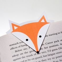 Print your own Foxy Bookmarks for free! Easy, cheap and beautiful. (in Danish)