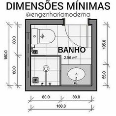 Com espaços cada vez mais reduzidos sempre nos deparamos com a pergunta qual o . Bathroom Layout Plans, Small Bathroom Layout, Bathroom Design Layout, Bathroom Floor Plans, Bathroom Design Luxury, Bathroom Dimensions, Hotel Room Design, Tiny Bathrooms, Toilet Design