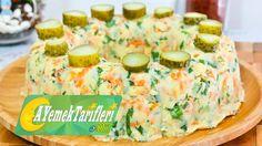 Yoğurtlu Patates Salatası Nasıl Yapılır? |Yoğurtlu Havuçlu Patates Sala...