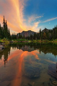 A tranquil sight in British Columbia, Canada.