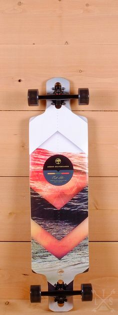 "Arbor Prebuilt 38"" Dropcruiser Photo Series Drop Through Longboard"