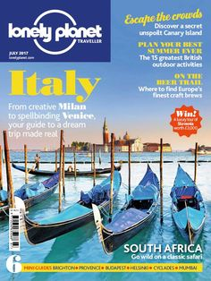 In this issue of Lonely Planet Traveller:    <strong>ITALY</strong>! From creative Milan to spellbinding Venice, your guide to a dream trip made real    Escape the crowds! Discover a secret unspoilt Canary Island    Plan your best summer ever! The 15 greatest British outdoor activities    On the beer trail! Where to find Europe's finest craft brews    South Africa - go wild on a classic safari!    6 Mini Guides Inside:  <ul>   <li>Brighton</li>   <li>Provence</li>   <li>Budapest</li…