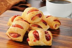 These Mini Puff Pastry Strawberry Strudels Couldn't Be Easier To Make! But You Don't Have To Tell Your Guests That…