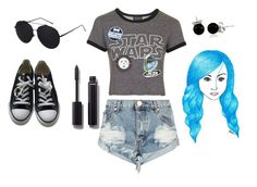 """The Force Awakens"" by katrenn on Polyvore featuring Topshop, One Teaspoon, Converse, Bling Jewelry, Chanel, hair and starwars"