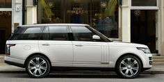 Here's What You Get When You Pay For The Top-Of-The-Line Range Rover 'Autobiography'