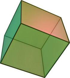 Illustrated definition of Surface Area: The total area of the surface of a three-dimensional object. Example: the surface area of a cube is the area. Math Resources, Math Activities, Euclidean Geometry, Strategy Map, Geometric Solids, Platonic Solid, Photoshop, Special Education, Flower Tattoos