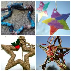 25 Star Crafts! Cute stars for kids to make, gorgeous stars for Moms to make! - Happy Hooligans