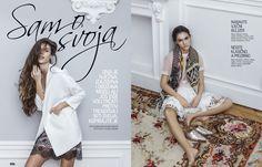 COSMOPOLITAN Croatia Simona Antonovic make-up / Natural fresh makeup