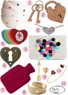 40 Great Heart-Themed Goods for Valentine's Day! #valentines #hearts