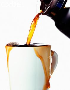 I need coffee before I can pour my coffee