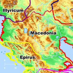 Bible Map: Macedonia
