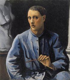 Achille Funi, Autoritratto, 1924 by kraftgenie on Flickr.