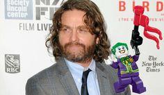 Zach Galifianakis to Voice The Joker in The LEGO Batman Movie