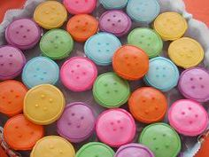 Button cupcakes.