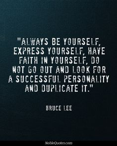 More great philosophy from Bruce Lee